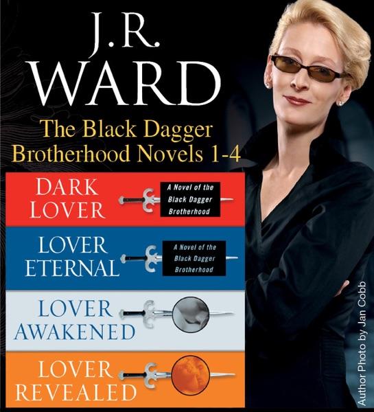 J.R. Ward The Black Dagger Brotherhood Novels 1-4 - J.R. Ward book cover