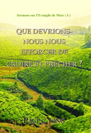 SERMONS SUR L'EVANGILE DE MARC ( I ) - QUE DEVRIONS-NOUS NOUS EFFORCER DE CROIRE ET PRECHER?
