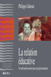 La relation éducative La couverture du livre martien