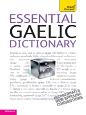 Essential Gaelic Dictionary: Teach Yourself