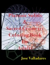 Platonic Solids  Sacred Geometry Coloring Book For Adults