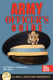Army Officer's Guide book
