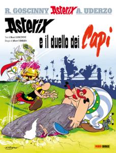 Asterix e il duello dei capi Copertina del libro
