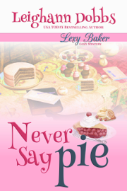 Never Say Pie book