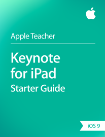 Keynote for iPad Starter Guide iOS 9 book