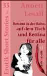 Bettina In Der Bahn Auf Dem Tisch Und Bettina Fr Alle