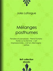 Mélanges posthumes