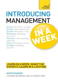 Introducing Management In A Week Teach Yourself