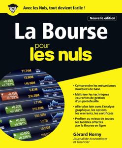 La Bourse pour les Nuls - 4e édition La couverture du livre martien