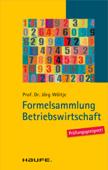 Formelsammlung Betriebswirtschaft