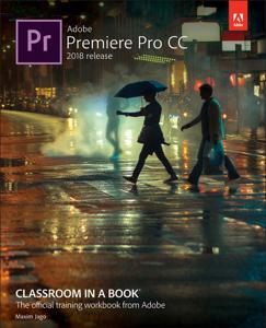 Adobe Premiere Pro CC Classroom in a Book (2018 release) La couverture du livre martien