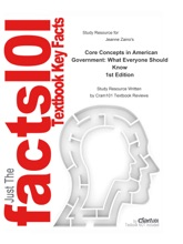 Core Concepts In American Government, What Everyone Should Know