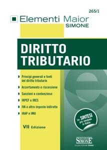 Elementi Maior di Diritto Tributario Book Cover