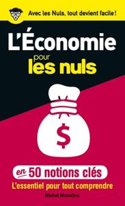 50 notions clés sur l'économie pour les Nuls La couverture du livre martien