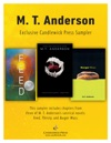 MT Anderson Exclusive Candlewick Press Sampler