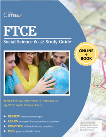 FTCE Social Science 6-12 Study Guide book