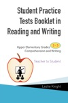 Student Practice Tests Booklet In Reading And Writing