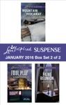 Love Inspired Suspense January 2016 - Box Set 2 Of 2
