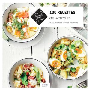 100 recettes de salades La couverture du livre martien