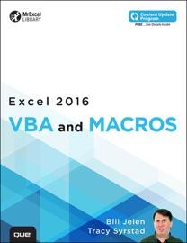 Excel 2016 VBA and Macros - Bill Jelen & Tracy Syrstad