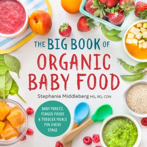 The Big Book of Organic Baby Food by Stephanie Middleberg MS, RD, CDN Book Cover