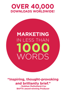 Marketing In Less Than 1000 Words La couverture du livre martien