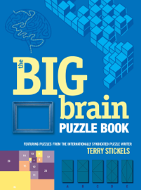 The Big Brain Puzzle Book book