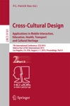 Cross-Cultural Design Applications In Mobile Interaction Education Health Tarnsport And Cultural Heritage