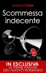 Scommessa indecente di Jessica Clare Copertina del libro