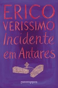 Incidente em Antares de Erico Verissimo Capa de livro