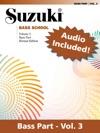 Suzuki Bass School - Volume 3 Revised