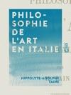 Philosophie De Lart En Italie