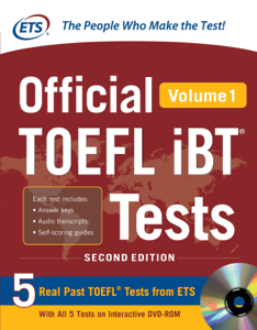 Official TOEFL iBT® Tests Volume 1 2nd Edition (ebook) Libro Cover