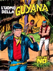 Mister No. L'uomo della Guyana Libro Cover