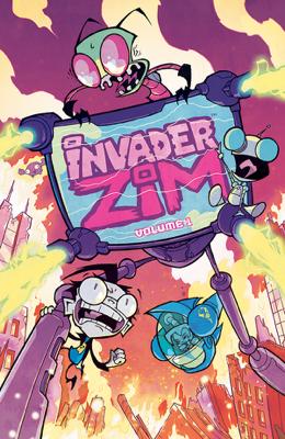 Invader Zim Vol. 1 - Jhonen Vasquez book