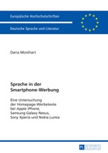 Sprache In Der Smartphone-Werbung