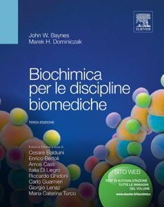 Biochimica per le discipline biomediche Copertina del libro
