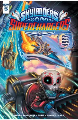 Skylanders: Superchargers #5 - Ron Marz book