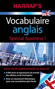Harrap's Vocabulaire anglais business La couverture du livre martien