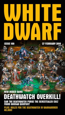 White Dwarf Issue 109: 27th February 2016  (Mobile Edition)