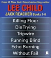 Lee Childs Jack Reacher Books 1-6