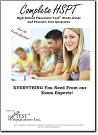 Pass the HSPT!  High School Placement Test Study Guide and Practice Test Questions
