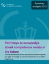 Pathways To Knowledge About Competence Needs In The Future