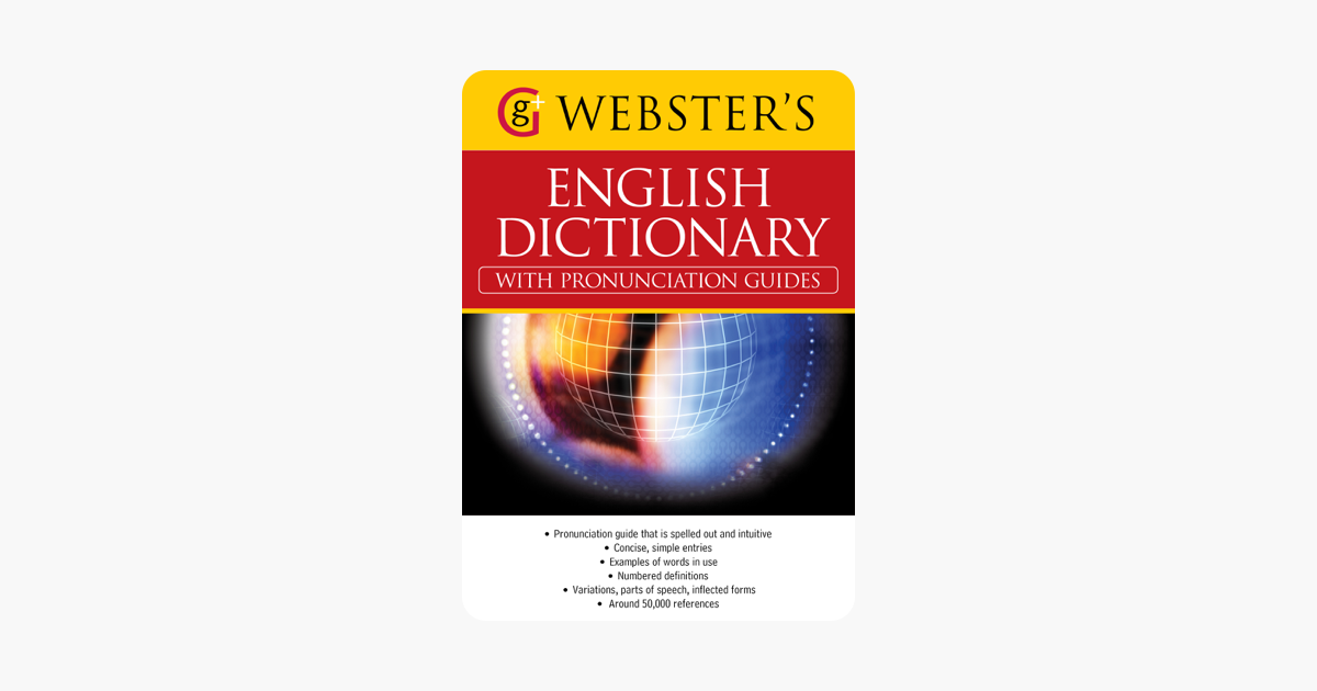 Webster's American English Dictionary (with pronunciation guides) - Alice Grandison