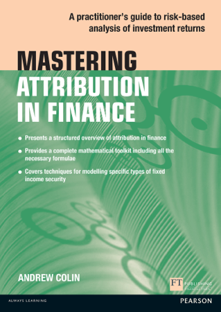 Mastering Attribution in Finance - Andrew Colin