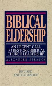 Biblical Eldership Book Cover