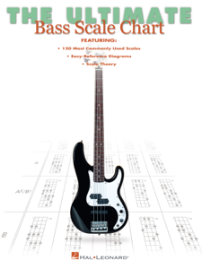 The Ultimate Bass Scale Chart Libro Cover
