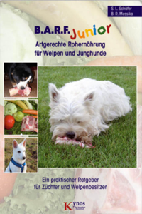 B.A.R.F. Junior - Artgerechte Rohernährung für Welpen und Junghunde Buch-Cover