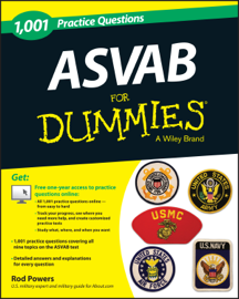 1,001 ASVAB Practice Questions For Dummies (+ Free Online Practice) book