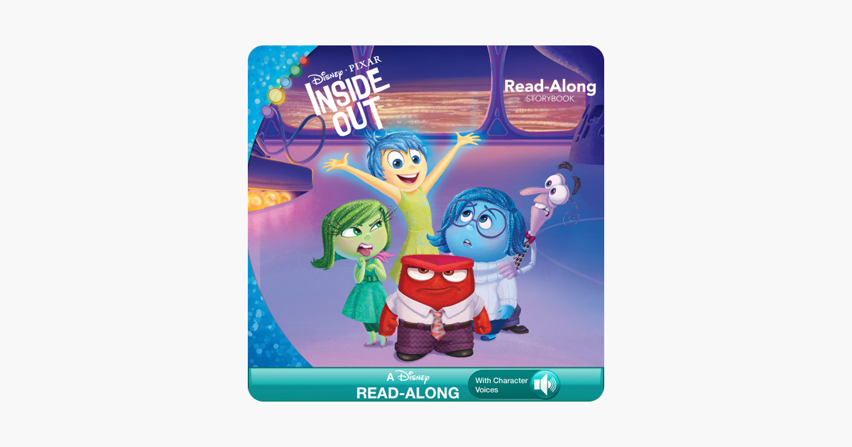 Inside Out Read-Along Storybook - Suzanne Francis & Disney Book Group